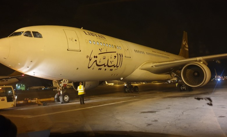 Photo of 218News tracks a flight to smuggle weapons and mercenaries from Tripoli's Mitiga Airport to Istanbul