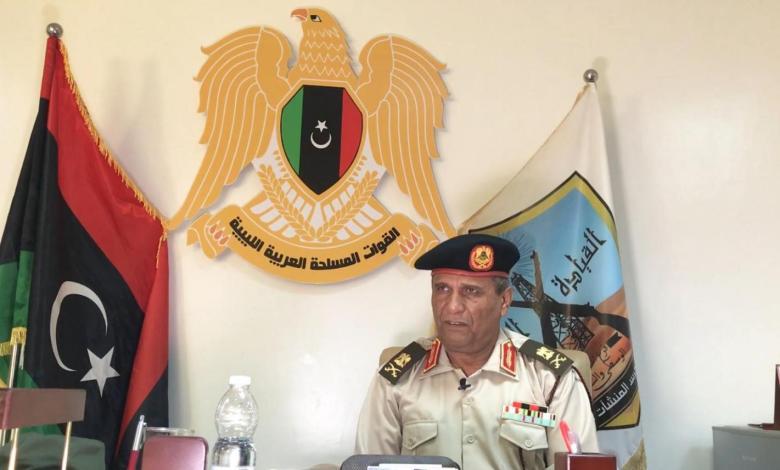 Photo of Brigadier Al-Maghrabi denies clashes near Libyan oil fields