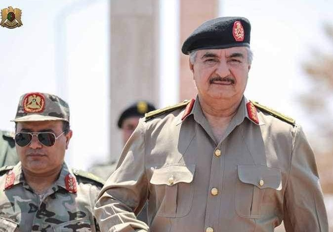 Photo of Haftar meets operations rooms' officers and military zones' commanders