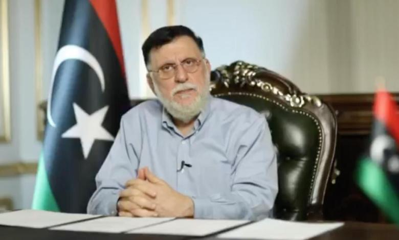 """Photo of Al-Sarraj resorts to a cabinet reshuffle and warns of implementing """"emergency law"""""""