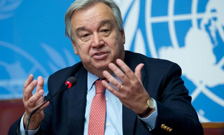 Photo of UN Secretary General shocked by many countries' intervention in Libya