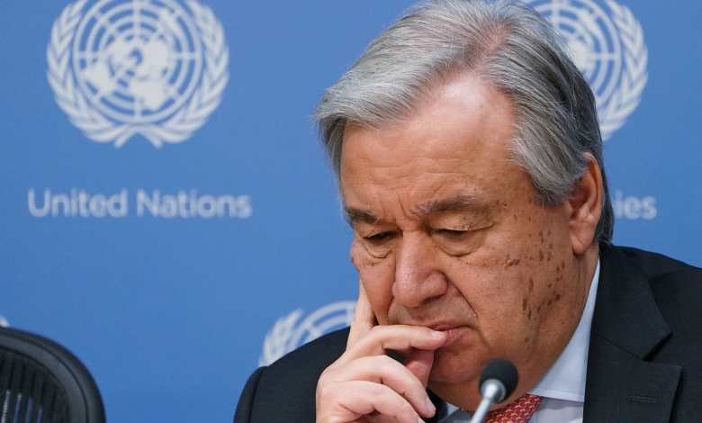 Photo of Official Libyan personalities send UN Secretary General a letter about constitution
