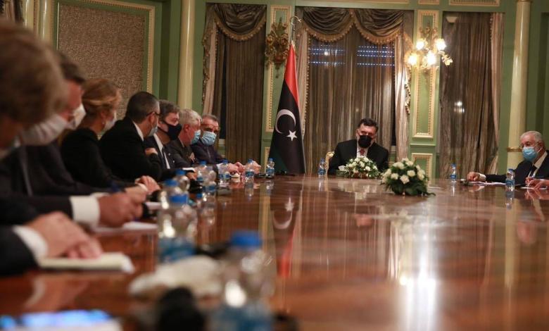 Photo of EU ambassadors to Al-Sarraj: Maritime MoU violates laws
