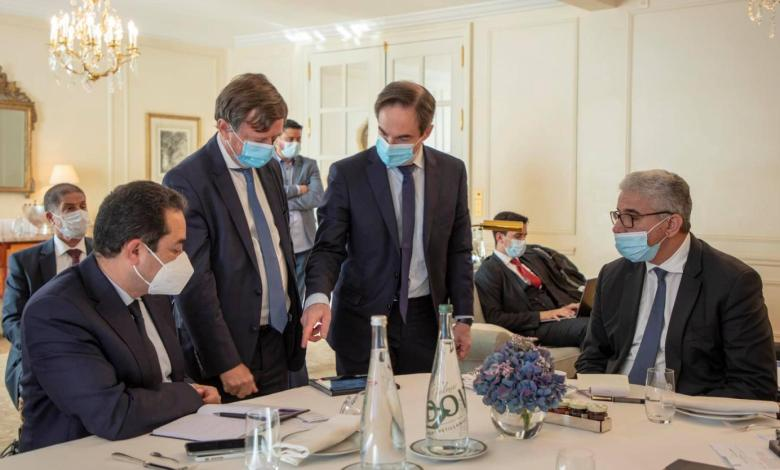 Photo of Bashagha signs MoU with French security firms in Paris