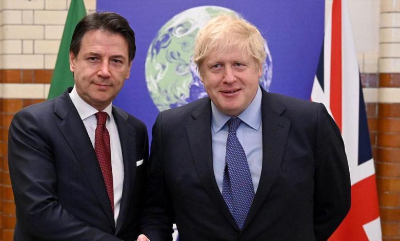 Photo of Italian, British Foreign Ministers discuss status quo in Libya