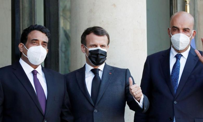 Photo of Macron to Menfi: Foreign forces should leave Libya as soon as possible