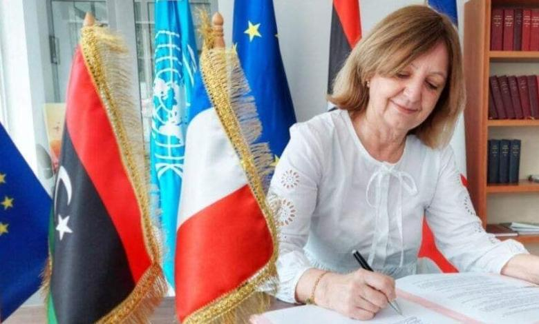 Photo of French embassy reopens in Tripoli