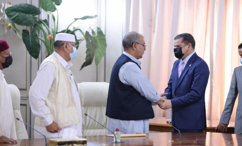 Photo of Delegation from east Libya urges Dbeibah to visit Benghazi as soon as possible