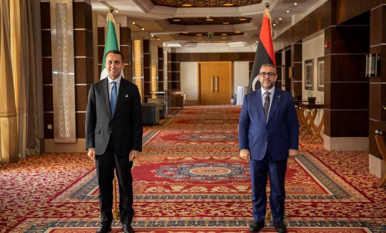 Photo of Di Maio reiterates to Al-Mishri importance of pulling out foreign forces from Libya