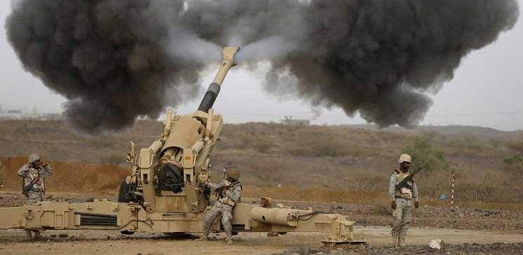 Army artillery and coalition air raids continue to bomb the positions of the militia in Hajjah