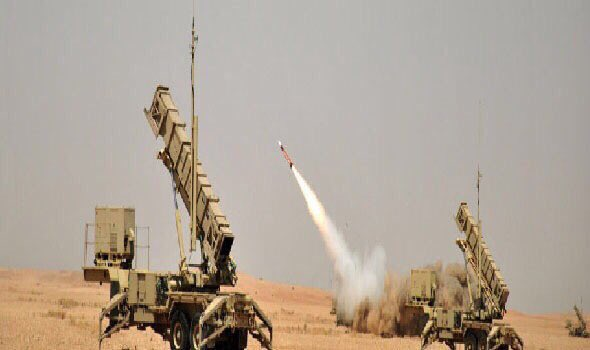 Arab coalition air defense forces shoot down two ballistic missiles