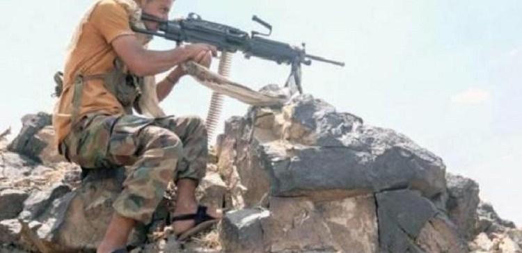 Taiz ..at least 25 militants killed, injured in Mozza