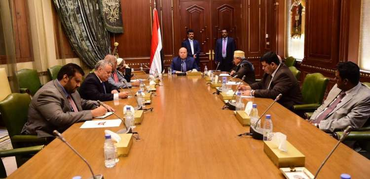 Presidential statement: Everyone countering Houthi terror guerilla will be supported