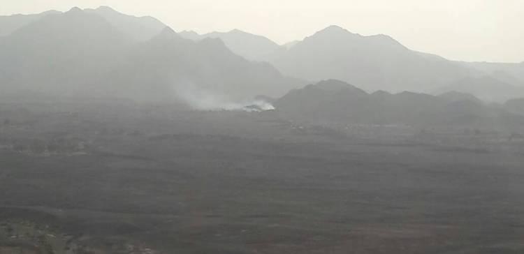 Jets destroy Houthi militia reinforcements in Serwah