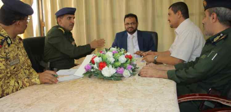 Security apparatus situation in Saba Region discussed