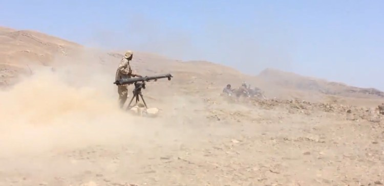 Al-Jouf,,, National army keeps advancing, incurs painful blows on Houthi militia