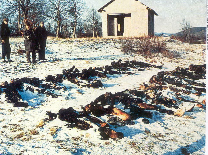 New York Times: Evidence in Massacre Points to Croats of Gospić