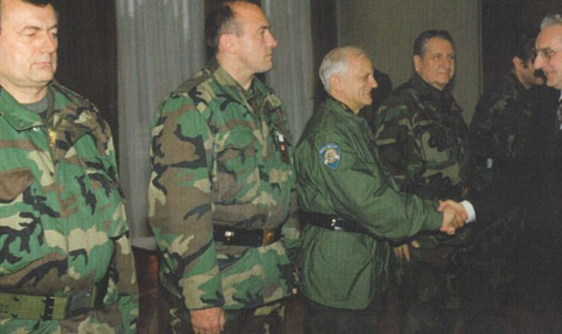 Special Forces Units of the Ministry of Defense, Military Police, Perković, Tuđman, Military Counter-Intelligence Service