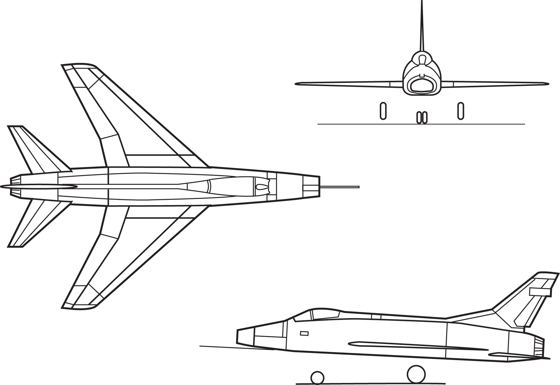 North American F 100 Super Sabre