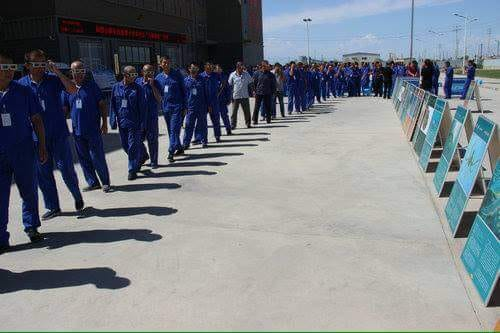 Uyghur in Xinjiang 'Political Re-Education Camp'