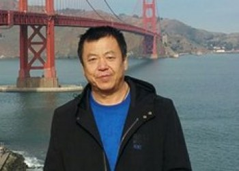 Beijing rights advocate Zhang Baocheng says that the Chinese authorities' crackdown on rights advocates is intensifying. (Undated photo courtesy of Zhang Baocheng)