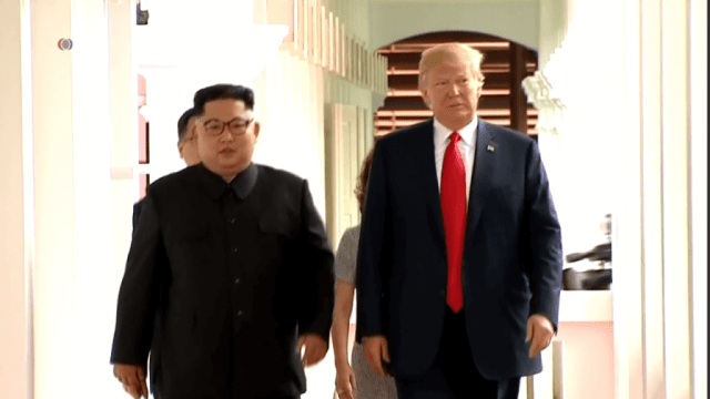 the United States and North Korea