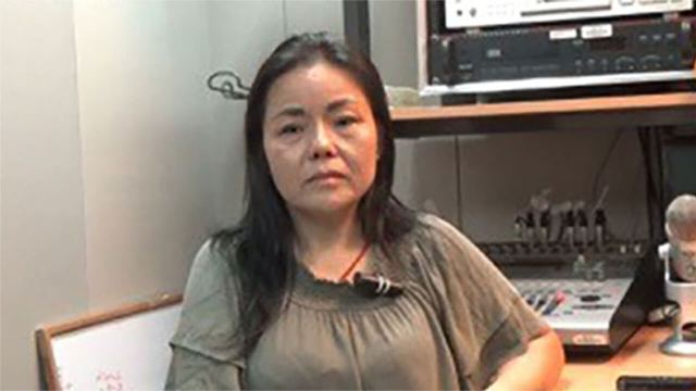 Huang Yan, a former torture victim who has been granted a temporary stay in Taiwan after being recognized as a genuine refugee by the United Nations, in file photo. Photo courtesy of Huang Yan.