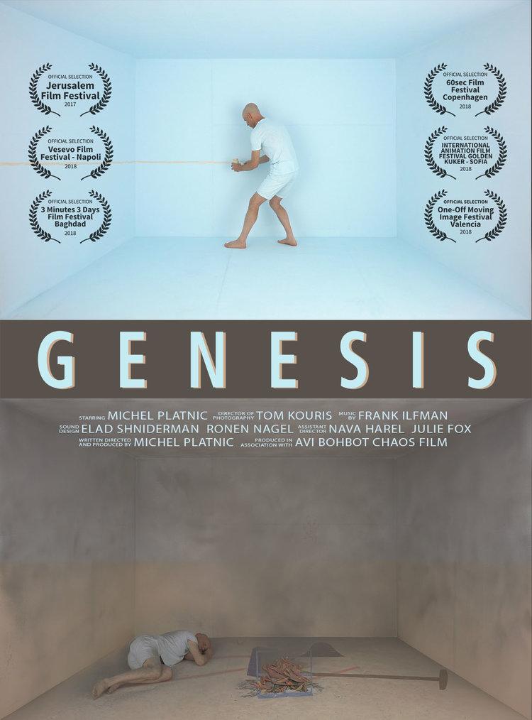 """Affiche du court-métrage """"Genesis"""""""
