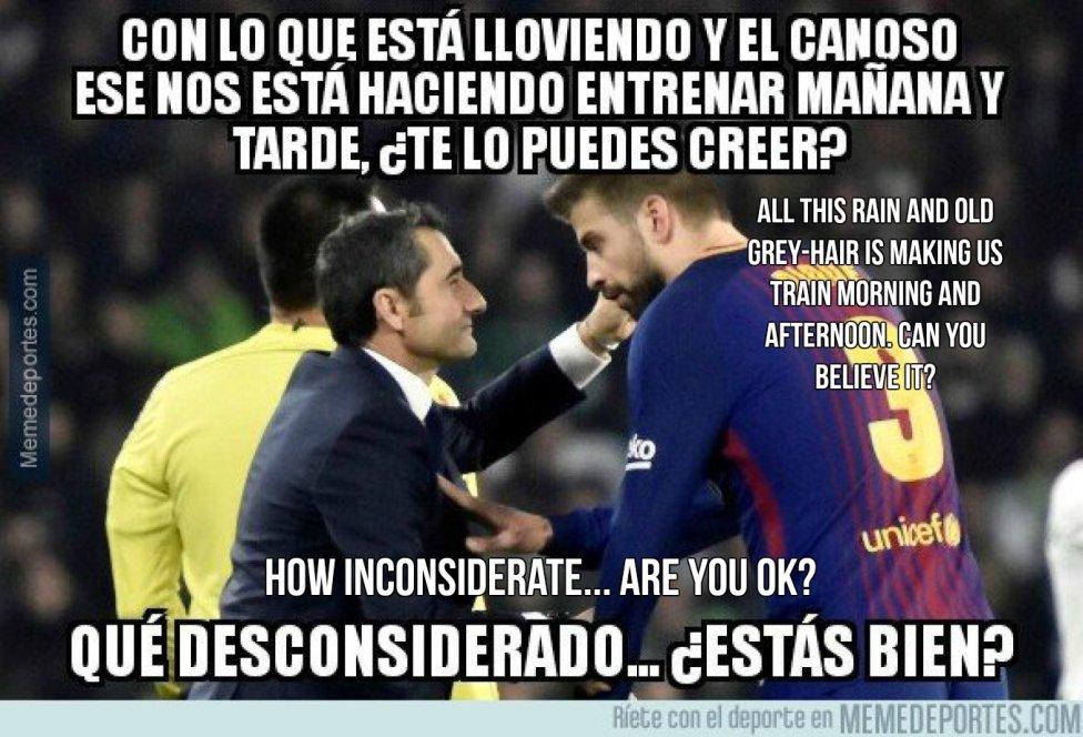 Spanish Copa Del Rey Memes Barcelona Real Madrid As Com
