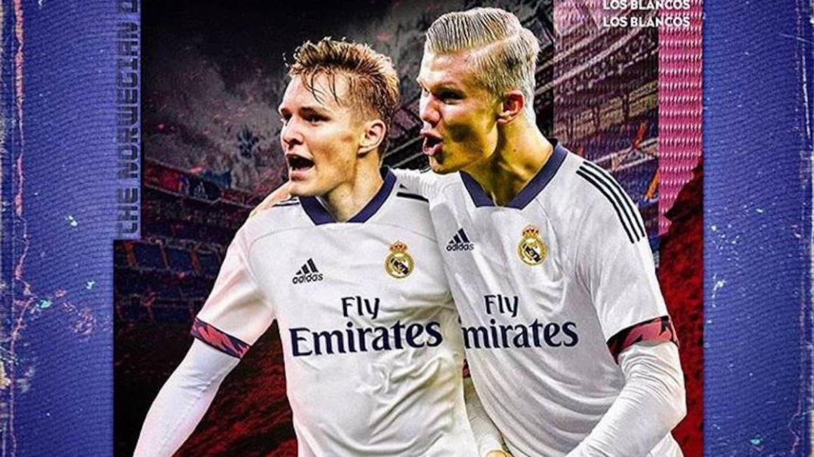 Real Madrid: Odegaard gets fans excited about Haaland link-up - AS.com