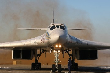 RuAF Tu-160 strategic bomber