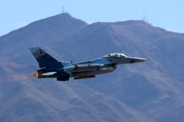USAF F-16 18th Aggressor Squadron