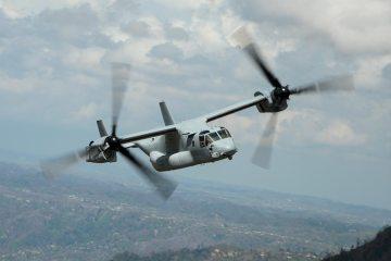 Bell Boeing v-22 Osprey tilttrotor 400.000 flight hours