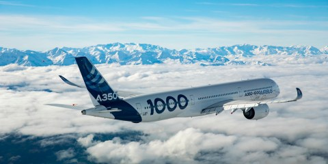 Airbus A350-100 type certification
