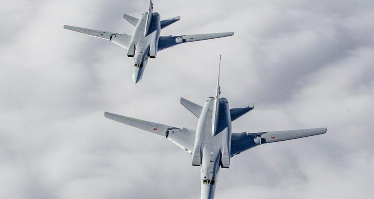 Strategic bombers Tu-22M3 Russian Air Force