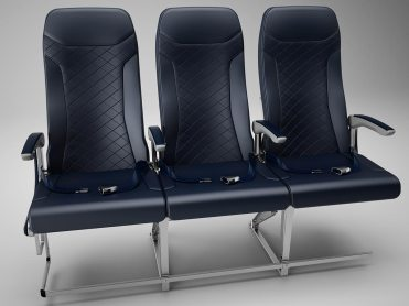 GEVEN ESSENZA aircraft seats for FLYNAS A320