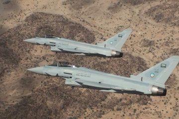 RSAF Royal Saudi Air Force Typhoon