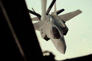 F-35 dissimilar air combat training