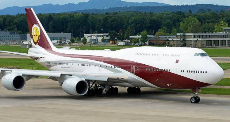 Qatari Royal Flight B-747