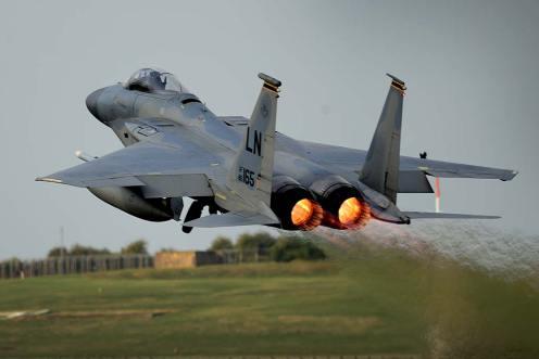 US Air Force F-15 Eagle