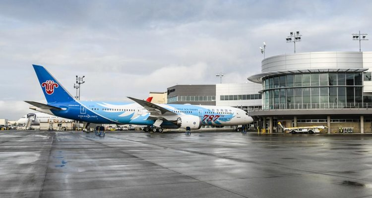 Boeing delivers the 787th B787 Dreamliner