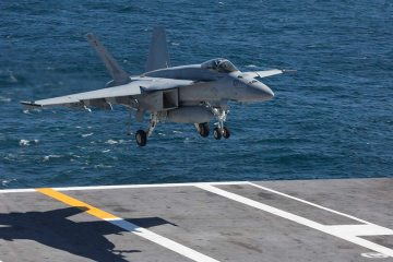 USS Abraham Lincoln CVN-72 and its Carrier Strike Group enters european theater