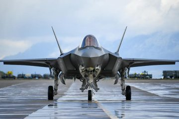 US Air Force F-35A Hill AFB