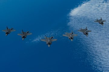 US, UK, Israel F-35 exercise tri-lightning