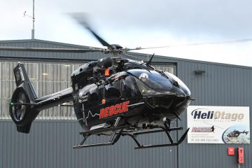 Airbus H145 rescue helicopter
