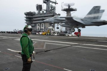 USS Eisenhower aircraft carrier