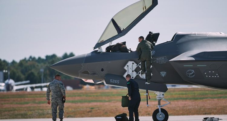 F-35A Vermont US Air National Guard