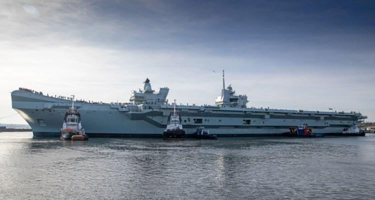 UK Royal Navy HMS Prince of Wales