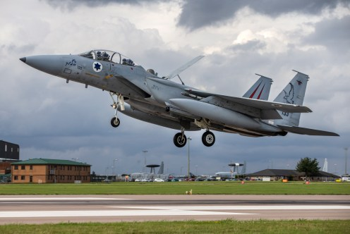 Exercise Cobra Warrior 2019 F-15 Eagle Israeli Air Force