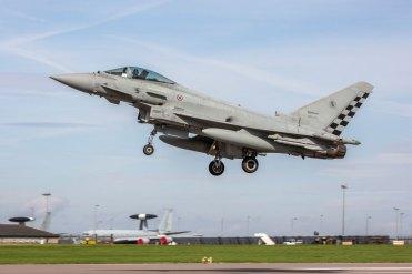 Exercise Cobra Warrior 2019 Eurofighter Italian Air Force
